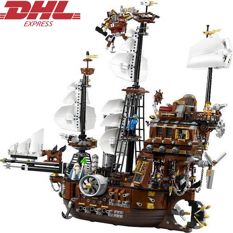 LEPIN Movie Series Pirate Ship Shark Iron Beard Manatee Flagship Classic Building Blocks Set Kids Model Toys Compatible Legoings lepin 22001 pirates series the imperial flagship model building blocks set pirate ship legoings toys for children clone 10210