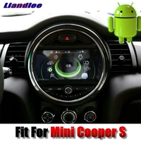 Liandlee Car Multimedia Player NAVI For Mini Cooper S 2016 2018 Android System With IDrive Button