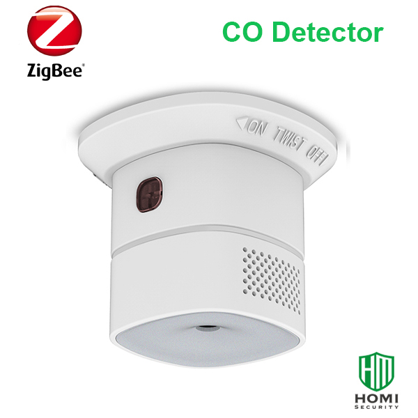 HEIMAN HS1CA Wireless Zigbee Smart Carbon Monoxide Sensor CO Detector Works With Home Assistant