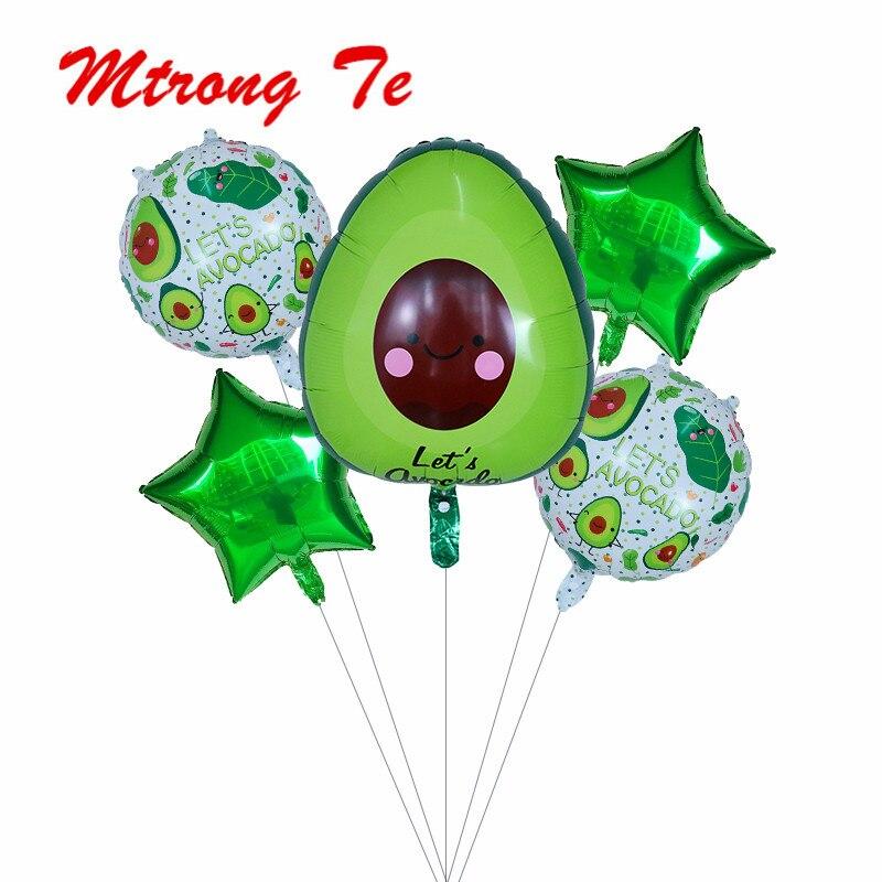 avocado balloon Fruit balloon Party Decorations Kids Wedding Xmas Supply Nice