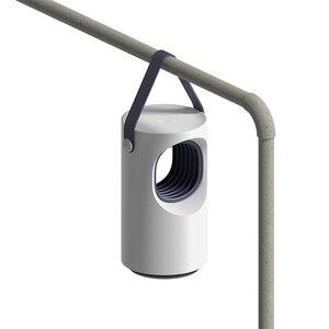 Image 5 - Mới Nhất Youpin Tím Xoáy USB Đèn Diệt Muỗi LED Hộ Gia Đình Im Lặng Đêm Ánh Sáng Đèn Không Có Bức Xạ Chống Muỗi Dispeller