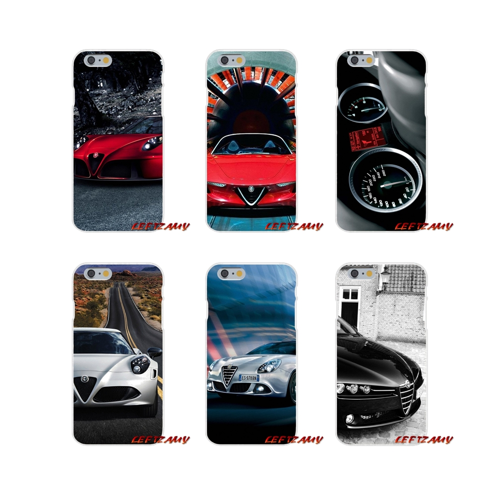 Accessories Phone Shell Covers Super Alfa Romeo For iPhone X XR XS MAX 4 4S 5 5S 5C SE 6 6S 7 8 Plus