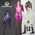 OW Over and Watch Widowmaker Cosplay Costume Outfit For Adult Halloween Carnival