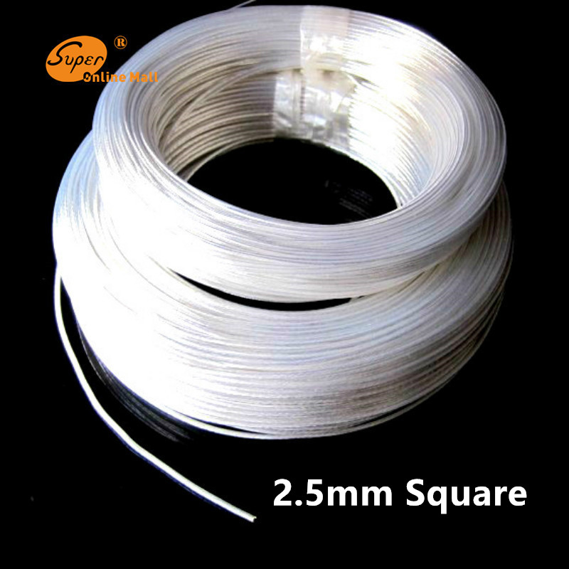 10/50/95m Silver plated cable Teflon 2.5mm2 OD 2.8mm headphone cable DIY earphone wire audio cable high temperature wire цена и фото