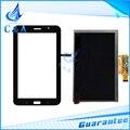 Para samsung galaxy tab 4 lite t116 sm-t116 display lcd + touch screen painel de digitador de vidro peças de reposição frete grátis