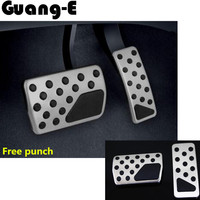 Top Quality For Grand Cherokee Car Styling Cover Aluminium Alloy Car Foot Gas Petrol Oil Brake