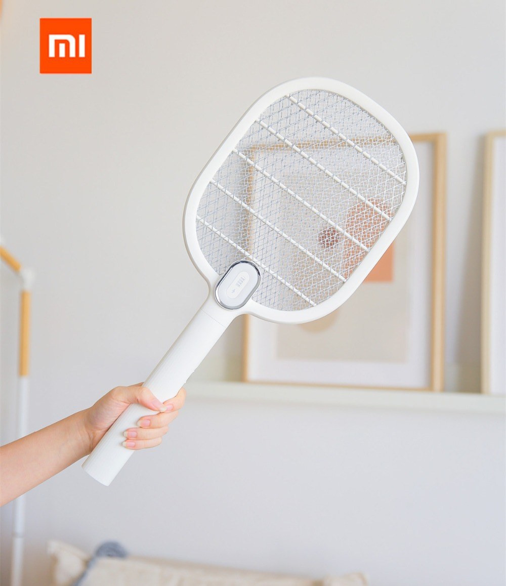 Image 5 - New Xiaomi Mijia 3 Life Mosquito Swatter Killer Electric Portable Handheld Racket Insect Fly Bug Mosquito Zapper Swatter Killer-in Vacuum Cleaner Parts from Home Appliances
