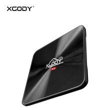 XGODY S10 Kodi Media Player Android TV Box 7.1 Amlogic Octa Core S912 DDR4 3GB RAM 32GB ROM Arabic IPTV Subscription 4K Streamer