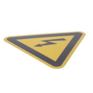 Image 5 - Ostrzeżenie naklejki etykiety samoprzylepne porażenie prądem niebezpieczeństwo uwaga bezpieczeństwo 25mm 50mm 100cm wodoodporny PVC