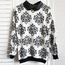 Women Autumn Vintage Long Sleeve Casual Knitted Sweater