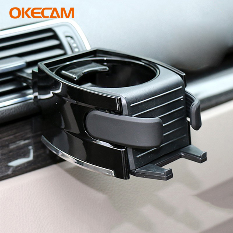 >OKECAM Car Drink Holders for Ford Focus 2 3 1 <font><b>Fiesta</b></font> <font><b>Mondeo</b></font> <font><b>4</b></font> 3 Ranger Fusion Kuga Transit Mustang Ecosport Galaxy Escape S-max