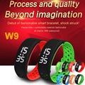 Original W9 Smart Bracelet IP67 Waterproof Bangle Wristband Bluetooth Smartwatch Sport Health Fitness Pedometer Activity Watch