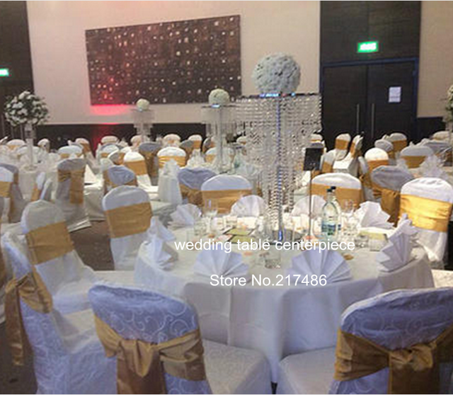 About 20 Days Sent Order Acrylic Crystal Vase Wholesale For Wedding