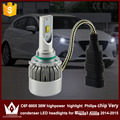 Guang Dian car led light 9005 Headlight Head lamp high beam C6F 6000K white  for mazda 3 Axela 2014-2015 year only