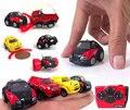 Горячие продажи Мини RC автомобиль 4.5 см рисунок Мини дистанционного управления автомобилем трюк прохладный skill toys для детей мальчик белый воротничок рабочего стола подарок игрушка