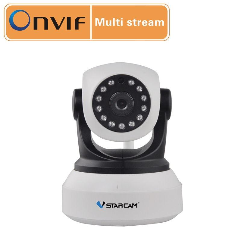 Free Shipping VStarcam 720P HD Wifi CCTV Security Wireless P2P Network IP Camera IR CUT ONVIF