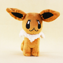 20cm Anime Plush Toys Eevee Animal Plush Doll Baby Soft Stuffed Plush Doll Toys