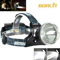 جديد BORUiT الذكية B10 الأصلي كري XM-L2 الصيد التخييم الصيد رئيس مصباح شعلة LED كشافات