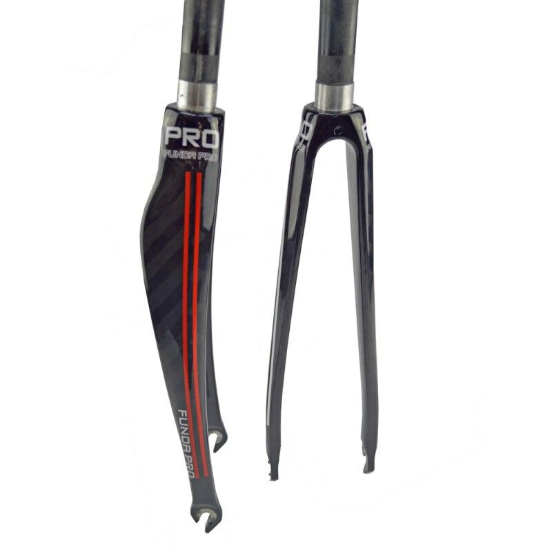 PRO Carbon Fork Full Carbon Fiber Road Bicycle Fork Cycling Bike Fork Bike Parts superlight fork