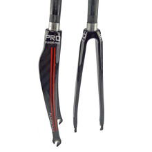 PRO Carbon Fork Full Carbon Fiber Road Bicycle Fork Cycling Bike Fork Bike Parts superlight fork 370g 12k carbon