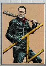 Ruxing 3D Diamond Painting Negan - The Walking Dead Cross Stitch castle Needlework Embroidery Full Decorative