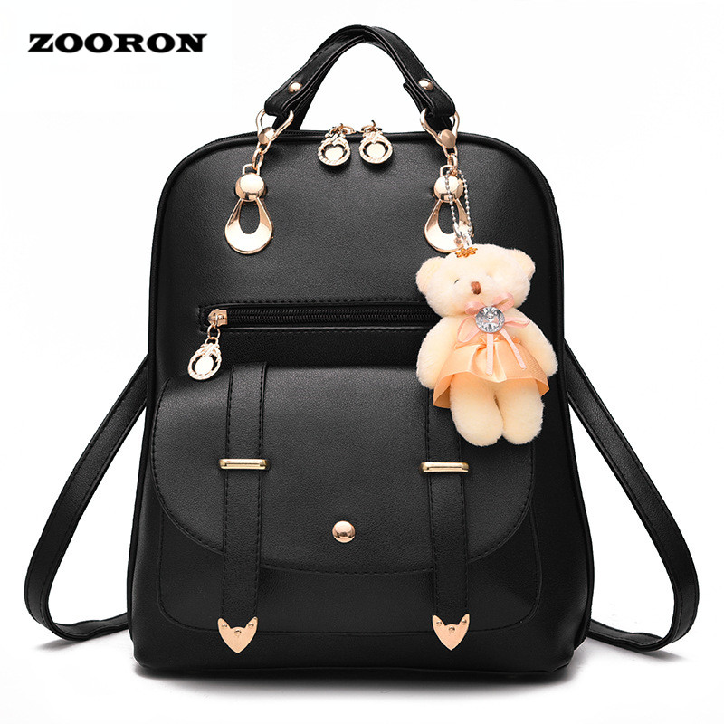Zooron 2017 women backpack new spring and summer students backpack girls korean style backpacks Korean style fashion girl bag