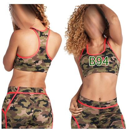 woman dance tops font b fitness b font sports bra racerback vest tank top Z Army