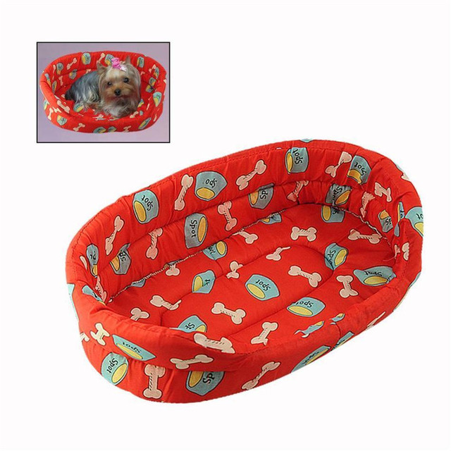 Easy Clean Non-cling Fabric Pet Bed
