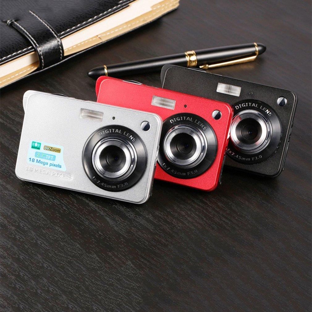 2.7 pouces TFT LCD affichage 18MP 720 P 8x Zoom HD caméra numérique Anti-secousse caméscope vidéo CMOS Micro caméra enfants cadeau