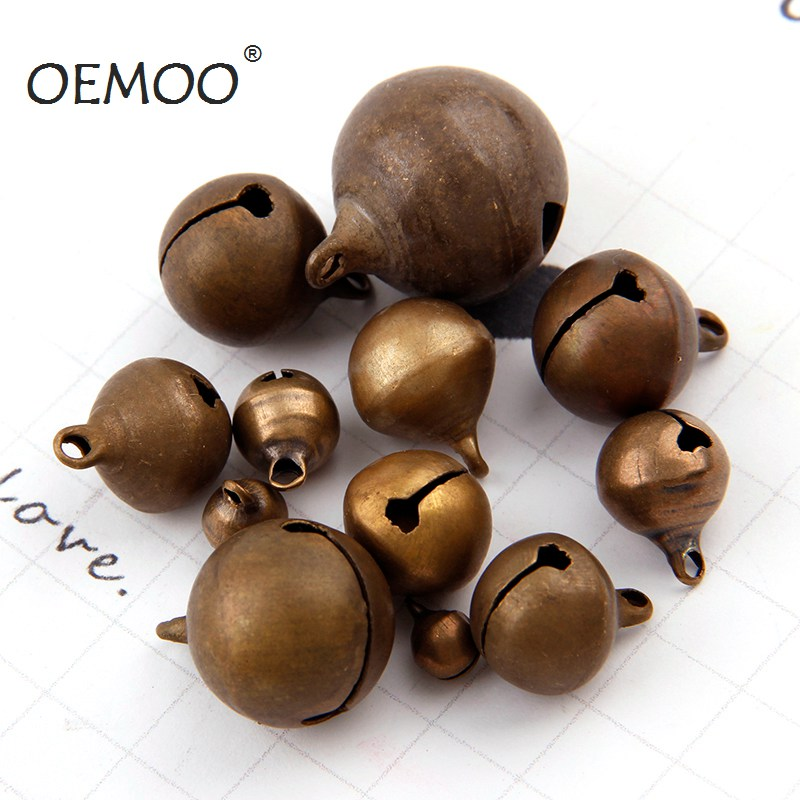 Bronze Metal Jingle Bells Loose Beads Festival Party Decoration/Christmas Tree Decorations/DIYCrafts Accessories