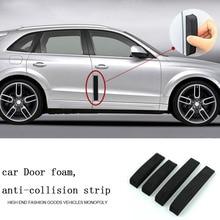 CDCOTN 4pcs Door Anti-Collision Strip Anti-EVA Rubber Car Protector Sticker Auto Products Decoration
