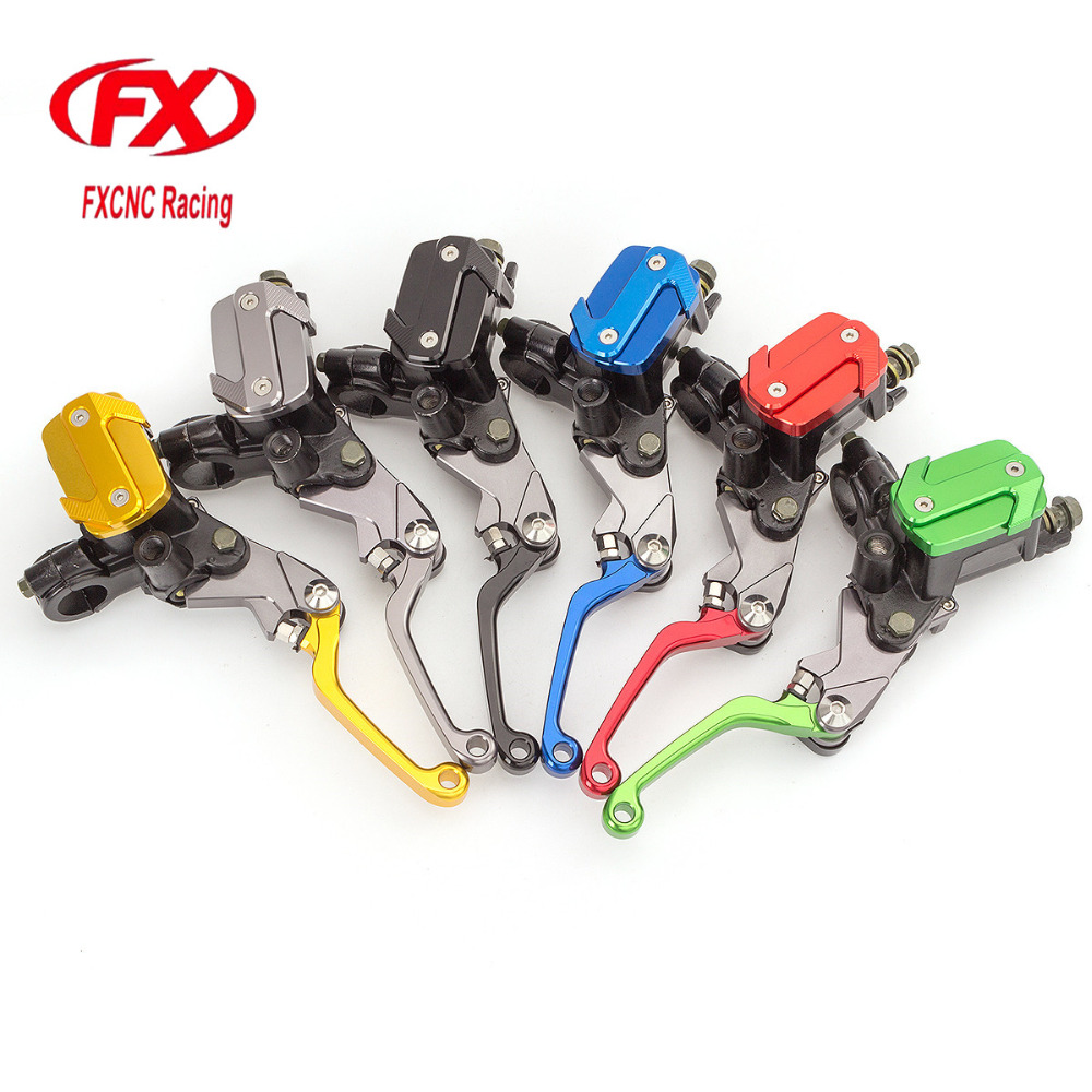 FX 7/8 50-550cc Dirt Pit Bike Motocross Brake Clutch Lever Master Cylinder Reservoir For Honda Rebel CMX250 1996 - 2011 CMX250C cnc 7 8 for honda cr80r 85r 1998 2007 motocross off road brake master cylinder clutch levers dirt pit bike 1999 2000 2001 2002