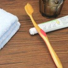 1 шт. Ультрамягкая зубная щетка двойная щетка для выпрямления волос для ухода за зубами золотой цвет Прайм щетина горячая Распродажа Глубокая очистка