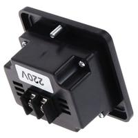 AIMOMETER GV13T AC220V Generator Digital Voltmeter Frequenz Stunde Test Panel Meter