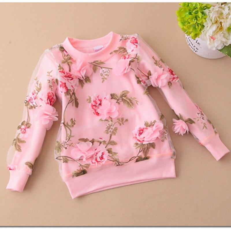 Блузка для девочек 2017 Blusas JW0476