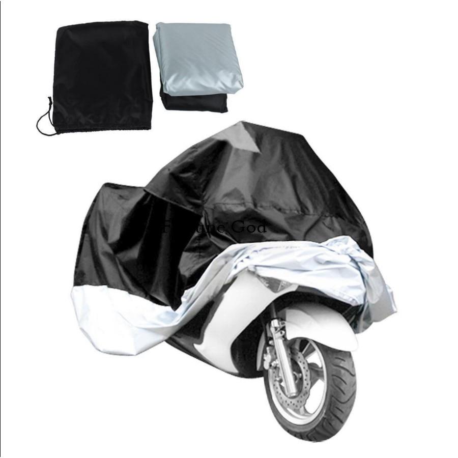 1X Motorcycle Cover XXXXL 295x110x140cm Anti UV Fit For Most Motorbike