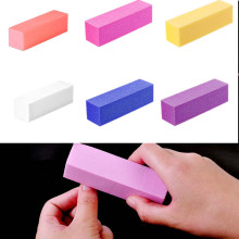 1 шт., 6 цветов, для УФ-геля, белая пилка для ногтей, буферный блок, лак для маникюра, форма для ногтей, пилочка для педикюра, шлифовальный инструмент для ногтей