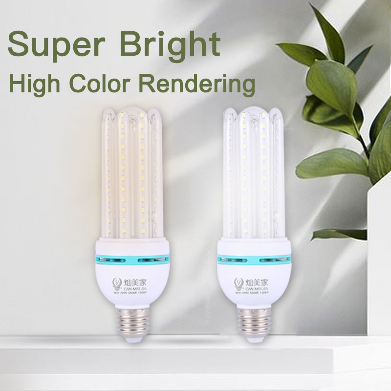 Spirit House Home Decoration 2 Small Green Light Bulb Tube 7W 220V For Lamps