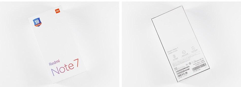 Xiaomi redmi note 7 6gb ram 64gb rom phone snapdragon 660