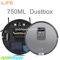 Wholesale ILIFE X750 Robot Vacuum Cleaner With Automatic Recharge Wet Mopping Vacuum Robot Home Cleaning Ilife