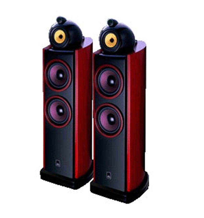 L-013 QUEENWAY Mistral SAG-350 3-Way 4-Driver Floor-Standing Speaker 6.5-inch Woofer Tweeter Luxury Wood Speaker (pair) h 004 queenway f6 floor standing full range speaker 1 way 1 unit hifi 6 5 inch vacuum tube amplifier 95db 8 ohms speaker