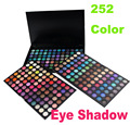 Wholesale 30pcs/lot Professional 252 Full Colors Eyeshadow Palette Eye Shadow Makeup Box Cosmetics Set