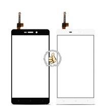 Черный Белый Передняя Стеклянная Линза + Сенсорный Экран Digitizer Для Для Hongmi 3 3x Redmi 3 s Замена для Мобильного Телефона ЖК-Экран случае