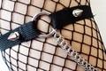 Готический подвязки и кольчуга цепи-промышленных панк металл готический свадебные подвязки Ног Жгут-Карнавал Танец Износа