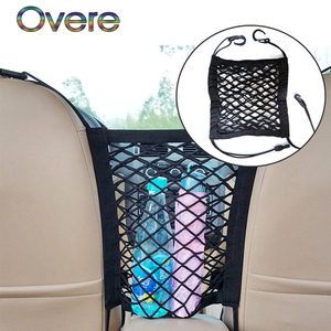 Overe 1PC Car storage net pock