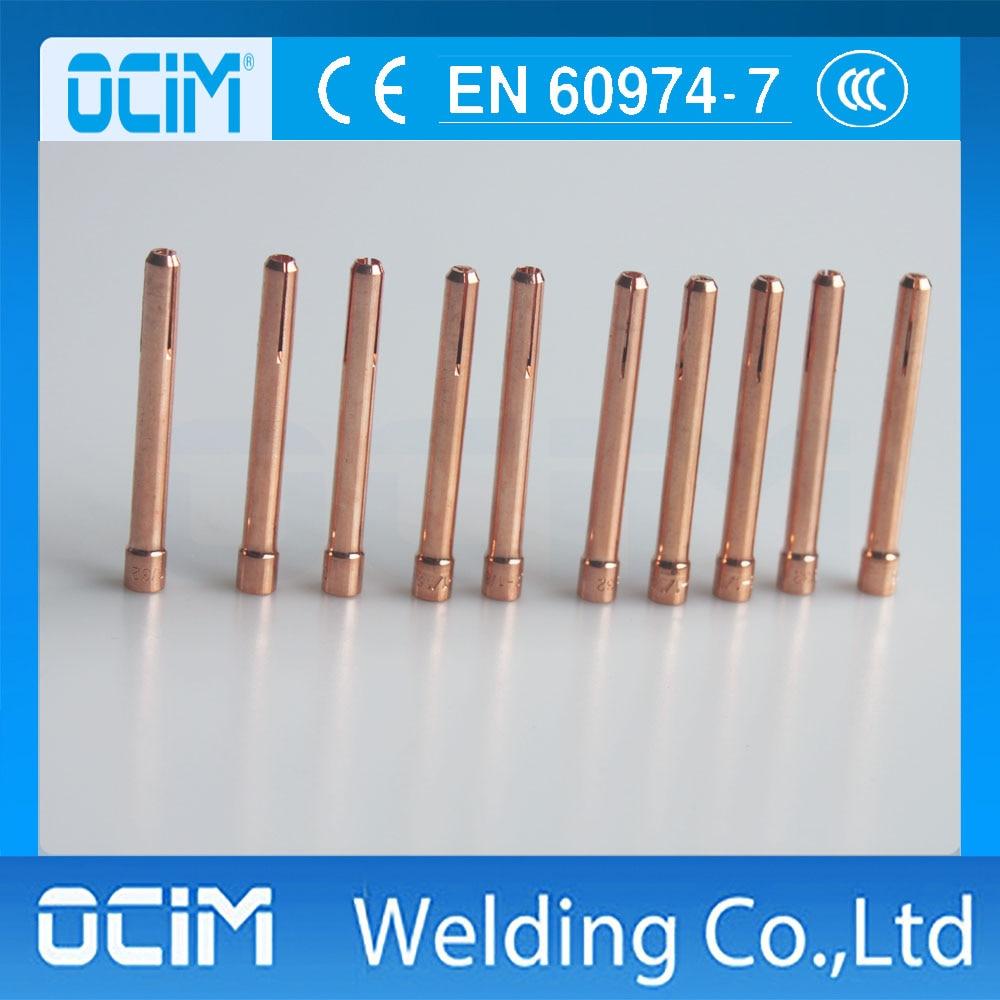 WP SR WP-17//18//26 TIG Collets 10N25 3.2mm 2 pack