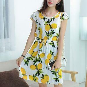 Short Cotton Dress Ladies Shor