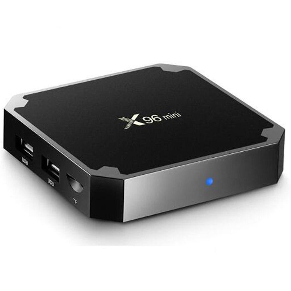 DJYG X96 mini Android 7.1 Smart TV BOX 2 GB 16 GB lecteur multimédia Amlogic S905W Quad Core Wifi 4 K Internet TV décodeur