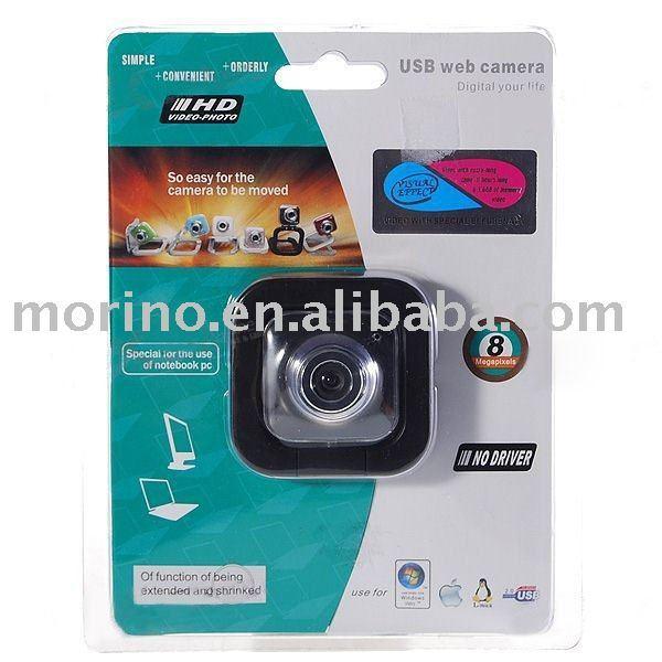 300K Pixel PC USB 2.0 Webcam with Pan/Tilt Frameset