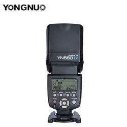 Yongnuo YN560  IV Ring Flash Light The Flash For Canon Nikon Camera High Speed Sync Radio Flash High Speed Sync Compact Flash